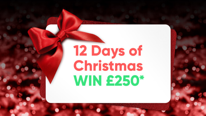 Christmas Gift Card. Competition to Win £250