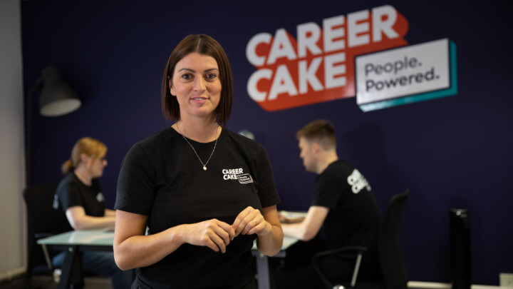 Aimee Bateman is the CEO of CareerCake.com