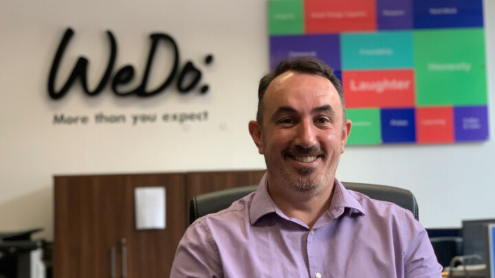 Mark Lindsay Director of WeDo recruitment finance