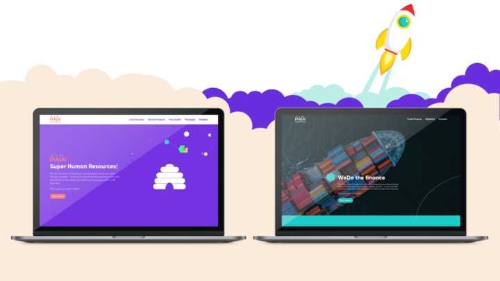 WeDo HR and Trade websites launch